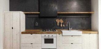 طراحی دکوراسیون آشپزخانه به شکل روستایی