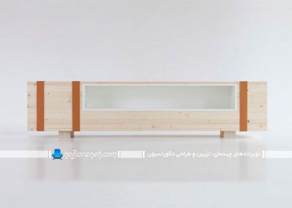شلف و باکس چوبی جادار