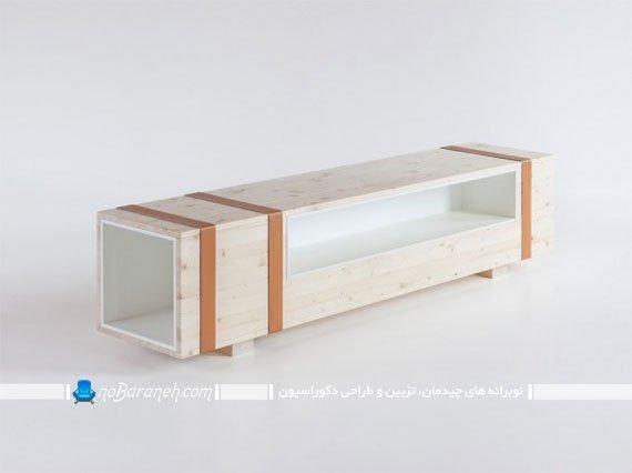 شلف و باکس چوبی