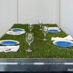 با میز ناهارخوری، طبیعت سبز را به خانه بیاورید