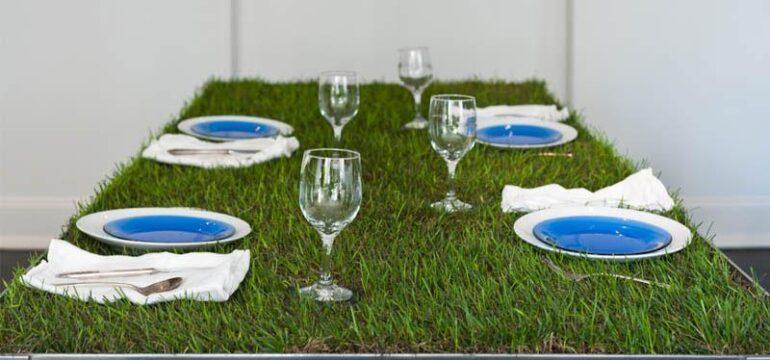 میز ناهارخوری با طراحی جالب و جدید
