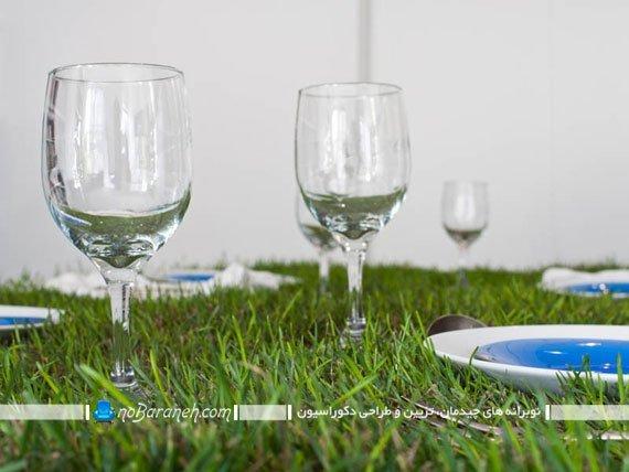 میز ناهارخوری با طراحی جالب و دیدنی