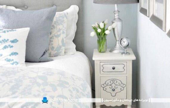 دکوراسیون اتاق خواب را با میز پاتختی زیباتر کنید