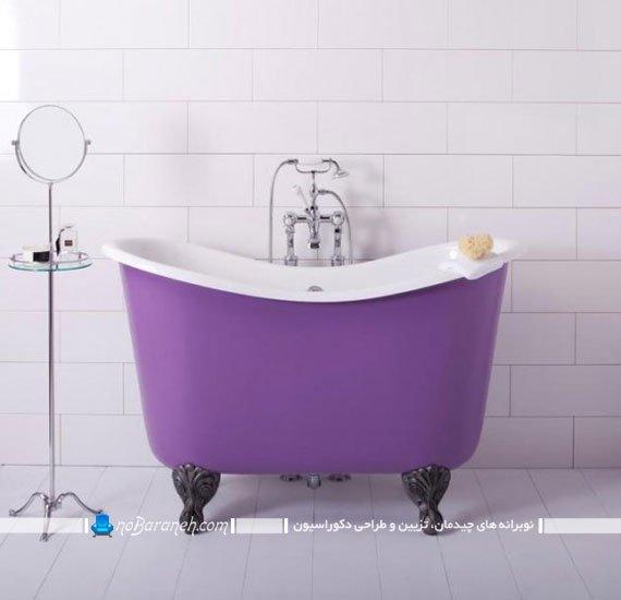 مینی وان برای حمام کوچک کلاسیک