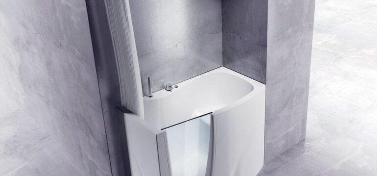 وان کوچک حمام با طراحی مدرن و زیبا