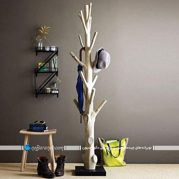 چوب لباسی پایه بلند درختی