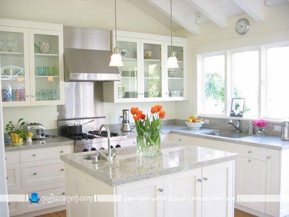 نمونه مدل های سنگ گرانیت برای کابینت آشپزخانه