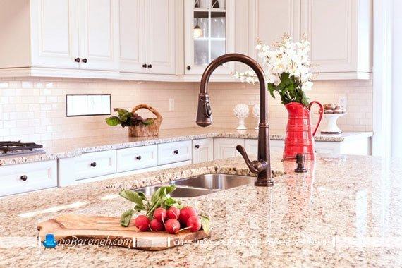 مدل های سنگ گرانیت برای میز اپن آشپزخانه