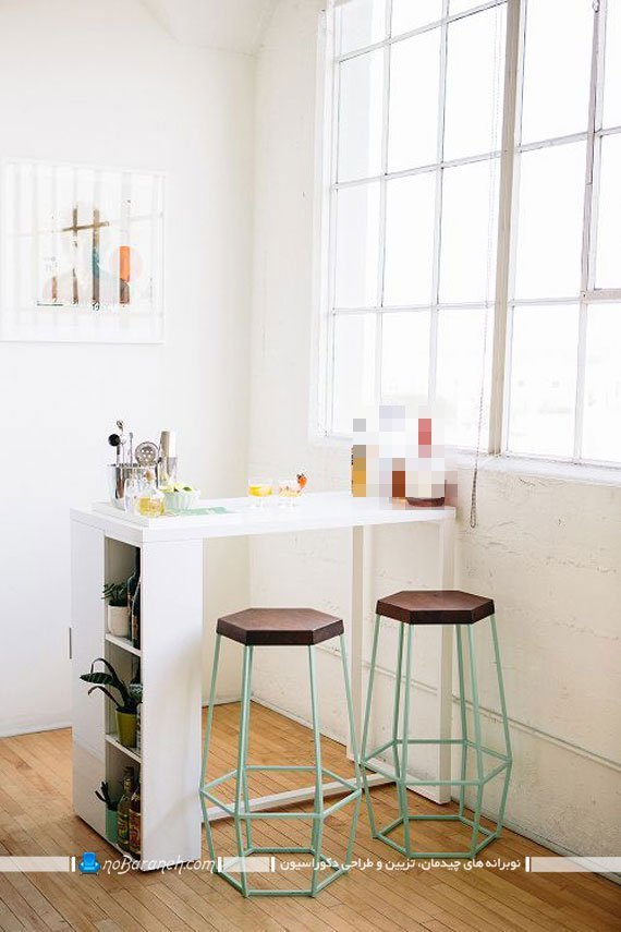 صندلی های ناهارخوری با طرح و مدل چند وجهی ظریف