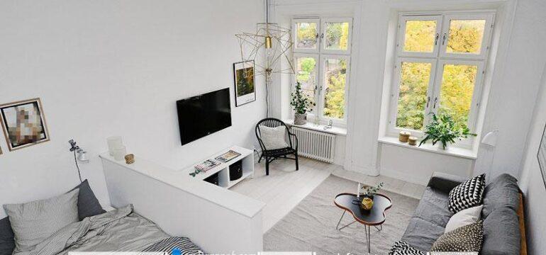 طراحی دکوراسیون شیک و ساده ای که در این خانه می بینیم برگرفته از طراحی دکوراسیون مینیمالیستی است. در طراحی دکوراسیون خانه از مبلمان های ساده و شیک بهره برده شده است.