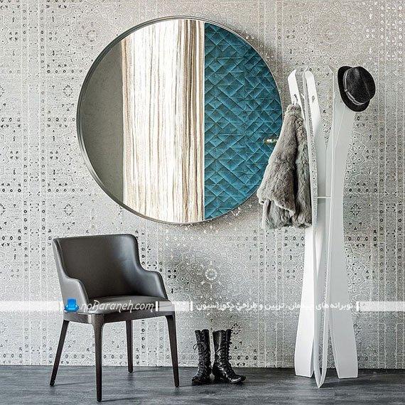 آینه دیواری شیک و مدرن. زیباترین آینه های دکوراتیو نصب آینه های دکوراتیو نصب آینه در پذیرایی آینه دیواری فانتزی