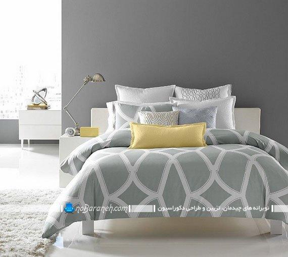 اتاق های زیبا و دیزاین شده با زرد و خاکستری