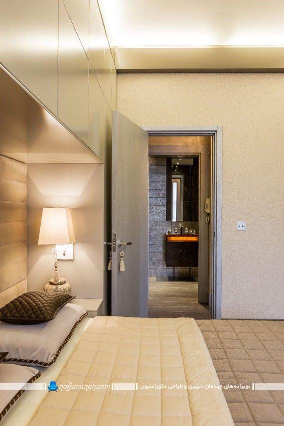 دکوراسیون مدرن اتاق خواب کوچک