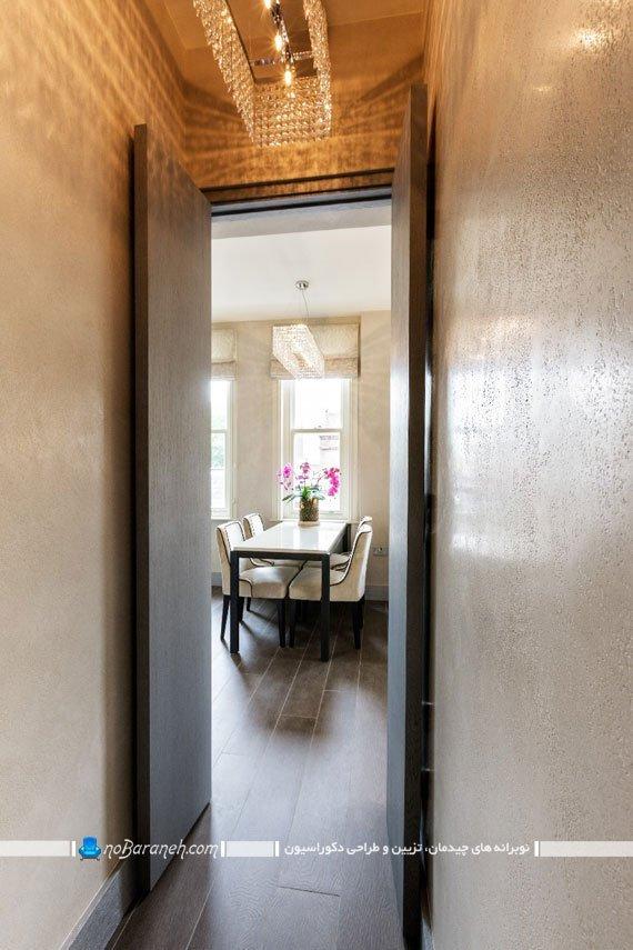 تزیین راهرو ورودی خانه کوچک آپارتمانی