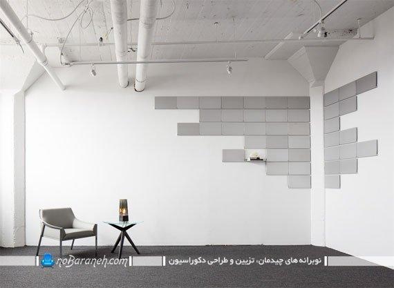 شلف و قفسه دیواری مدرن. تزیین دیوارهای منزل با شلف دکوری دکوراتیو زیبا شیک مدرن در مدل های جدید و زیبا