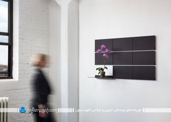 شلف و قفسه دیواری جدید و مدرن. انواع شلف دیواری شیک فانتزی زیبا برای تزیین دیوار منزل