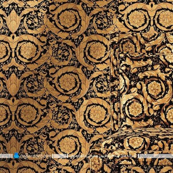 کاغذ دیواری کلاسیک و سلطنتی