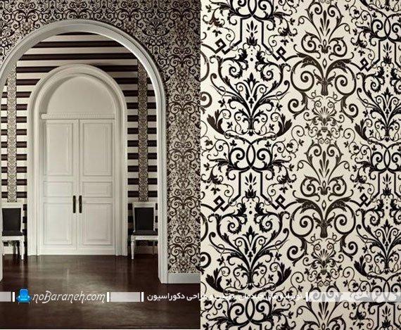 کاغذ دیواری کلاسیک مارک ورساچه. مدل های جدید کاغذ دیواری فانتزی و شیک زیبا خوشکل قشنگ