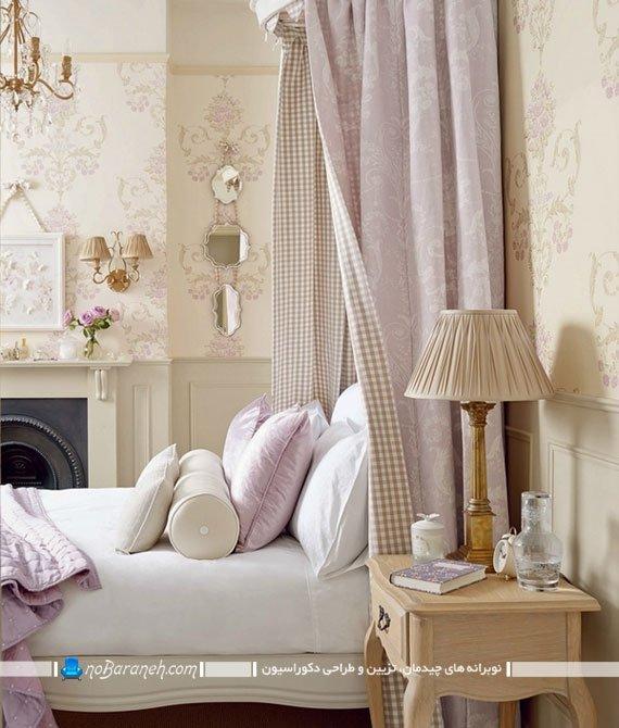 کاغذ دیواری سلطنتی اتاق خواب
