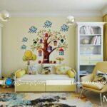 دیوار اتاق کودک را با استیکر و برچسب تزیین کنید