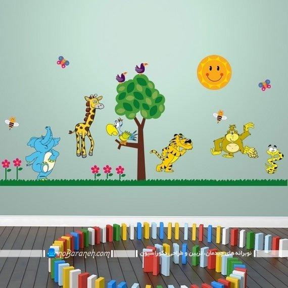استیکر دیواری اتاق کودک