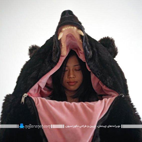 کیسه خواب گرم و نرم و البته ترسناک