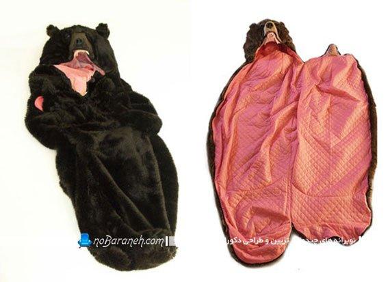 خوابی آرام و بی دغدغه در دل یک خرس وحشی