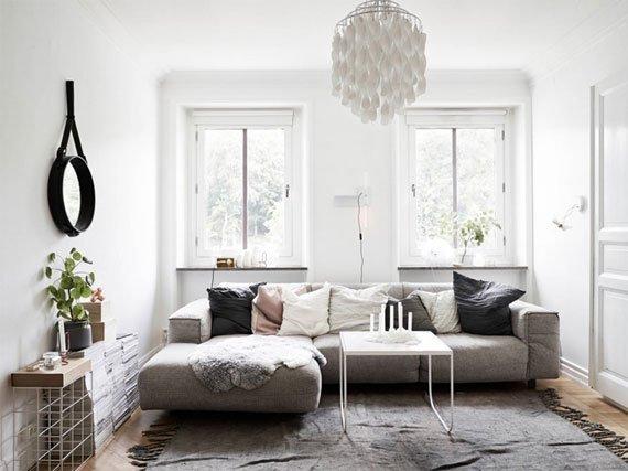 دیزاین ساده و مینیمال با طرح چوب و رنگ سفید