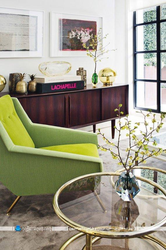 ترکیب رنگهای شاد و روشن در دکوراسیون منزل