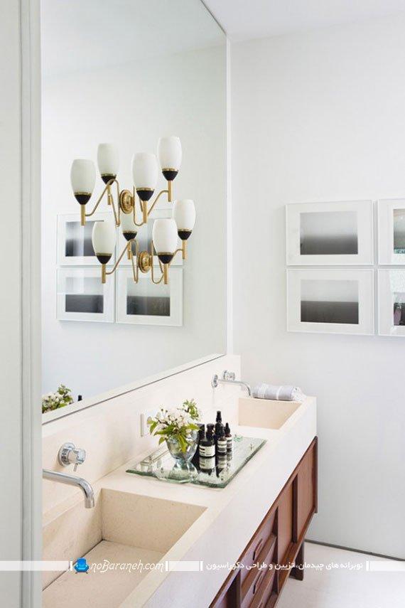 دیزاین و دکوراسیون حمام و روشویی