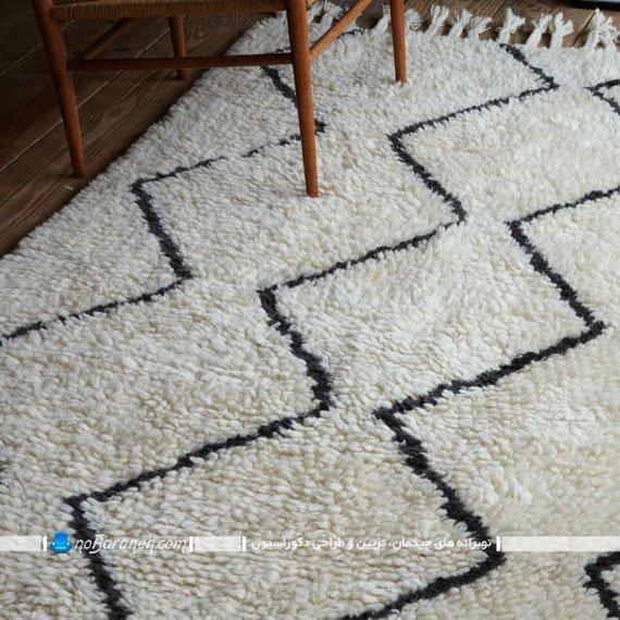 فرش پرزدار ماشینی