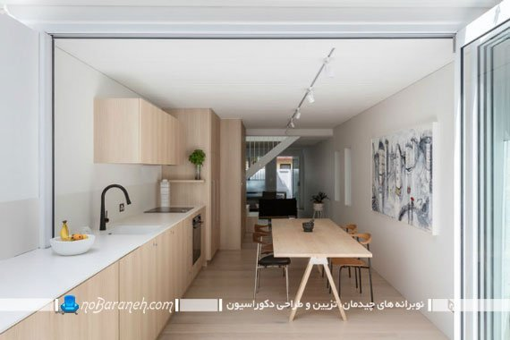 دکوراسیون حیات خلوت خانه به شکل آشپزخانه