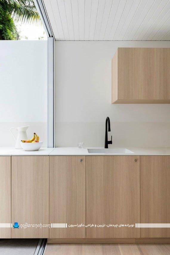 دیزاین پاسیو و حیات خلوت چسبیده به آشپزخانه