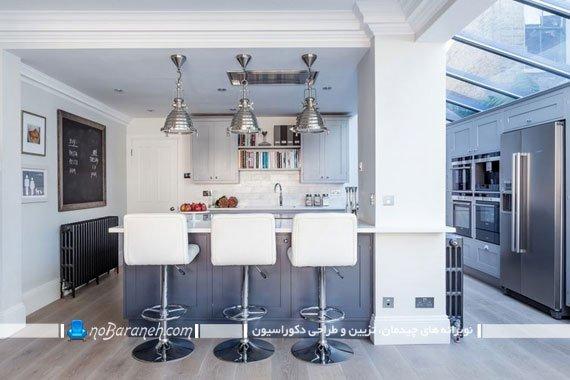 کابینت های دوقلو در آشپزخانه / عکس