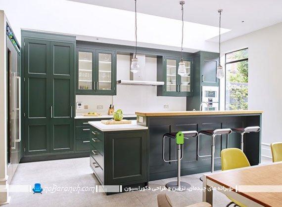 مدل کابینت های دوقلو در آشپزخانه / عکس