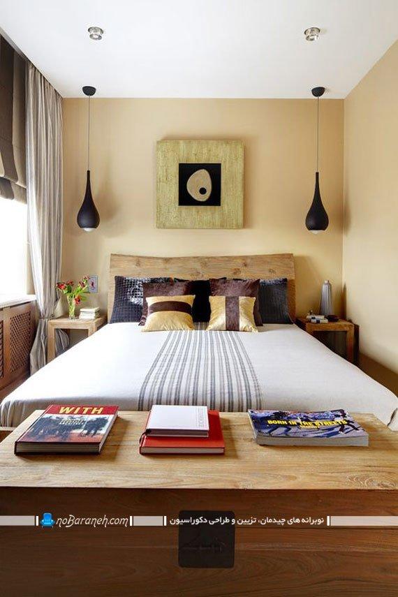 چراغ های آویز دو قلو برای تزیین اتاق خواب