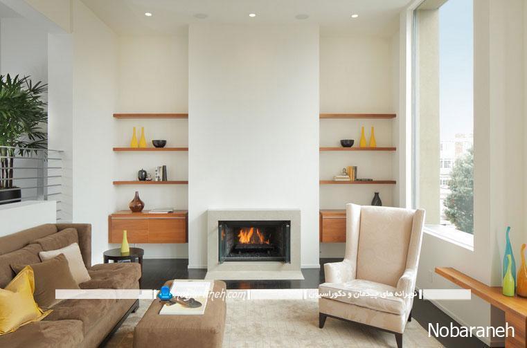 طراحی دکوراسیون آینه ای دو به دو در خانه و منزل