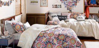 تزیین دخترانه و شیک دیوار اتاق خواب با عکس ها