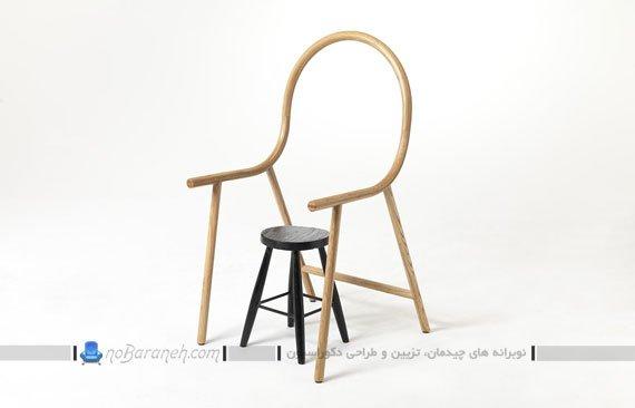 وسیله ای برای تبدیل چهار پایه به صندلی