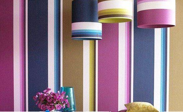 تزیین دکوراسیون داخلی با رنگ های شاد و متنوع