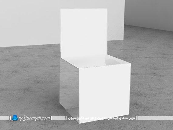 صندلی تک نفره فانتزی با طراحی ساده و مدرن