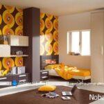 طراحی دکوراسیون رنگارنگ و زیبا در اتاق کودک و نوجوان