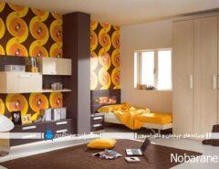 رنگ آمیزی دکوراسیون اتاق کودک و نوجوان