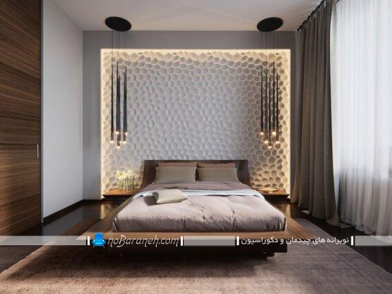 تزیینات شیک و مدرن برای اتاق خواب عروس. دکوراسیون اتاق خواب. مدل های جدید دیزاین اتاق خواب