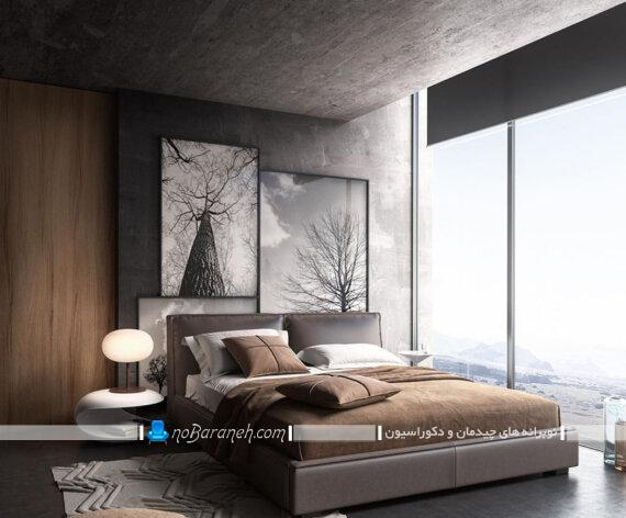 تابلو عکس دکوراتیو و تزیینی برای اتاق خواب. ایده شیک و ارزان قیمت برای تزیین اتاق خواب