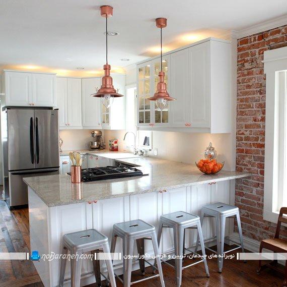 چراغ کلاسیک آویز دار برای نورپردازی آشپزخانه