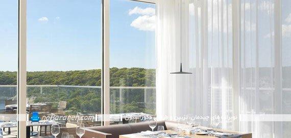 مدل های جدید پرده برای پنجره های نورگیر