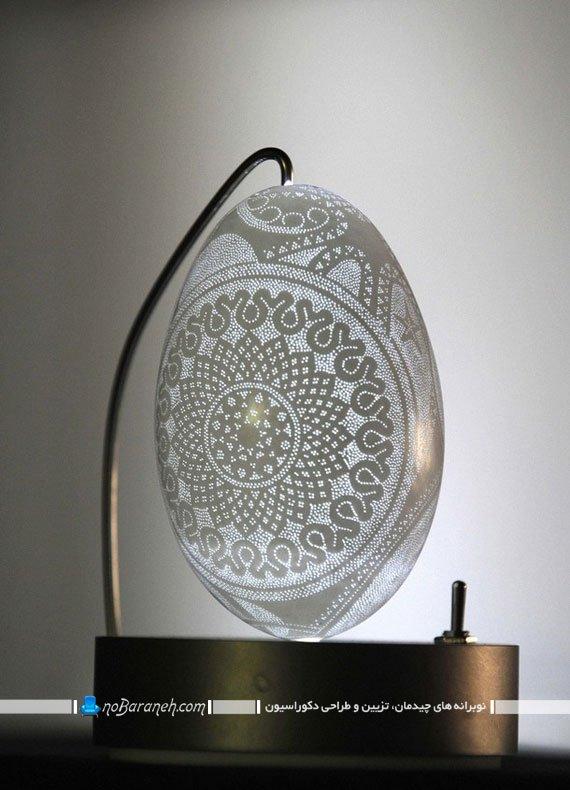 ساخت آباژور کوچک رومیزی با طراحی فانتزی و زیبا