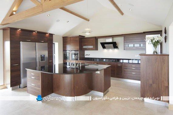 نصب کابینت در فضاهای خالی آشپزخانه مثل بالای یخچال