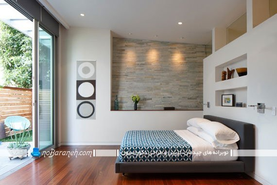 مدل جدید پارتیشن چوبی و زیبا اتاق خواب